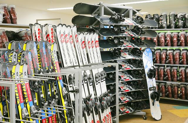 スキー・スノーボードレンタル